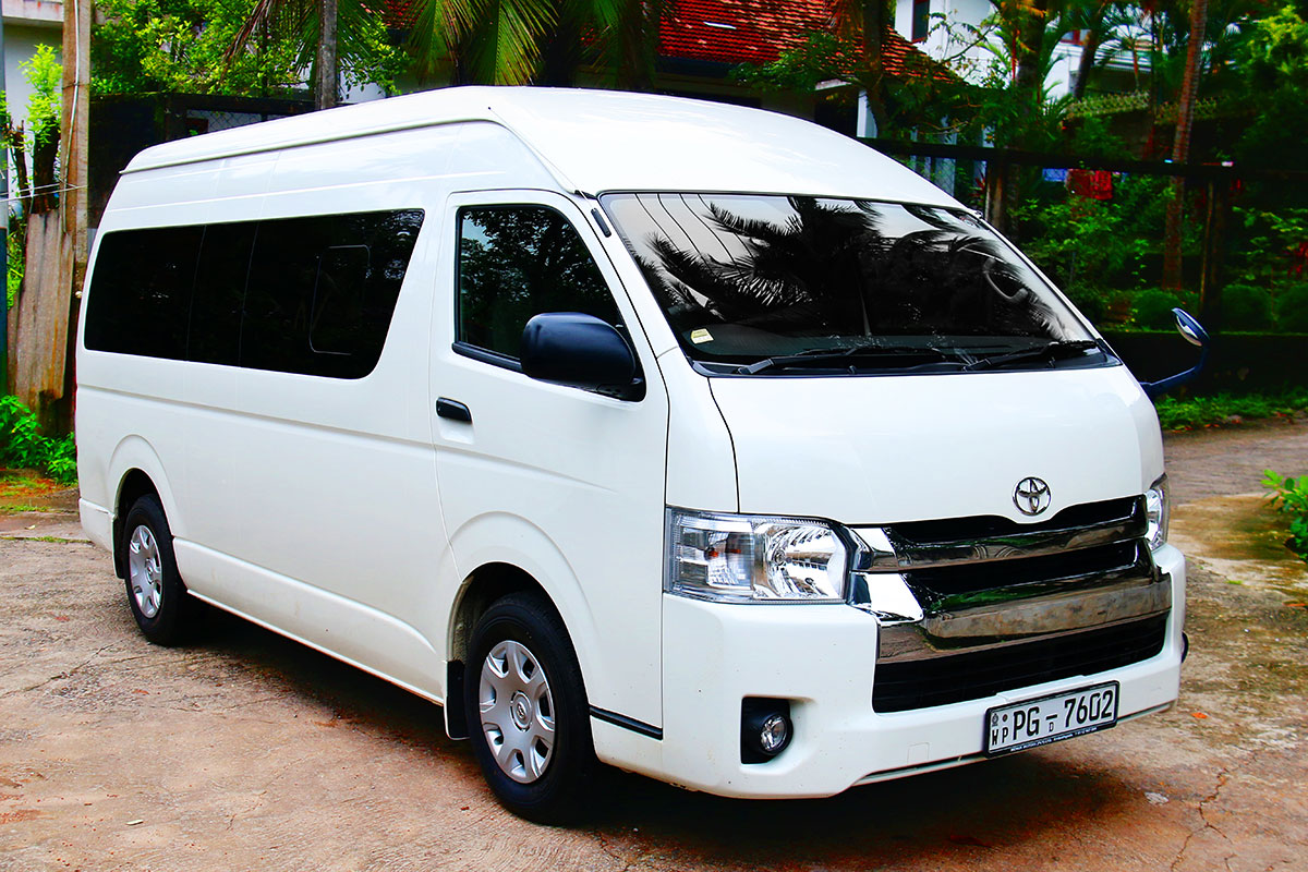 Toyota Van 2018 >> Toyota KDH Van for Hire | Traveller Sri Lanka | icabs.lk