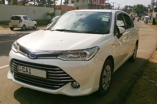 Toyota Axio car for Rent