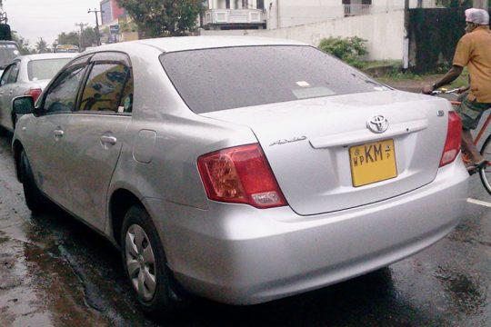 Toyota Axio Car for Rent in Makola