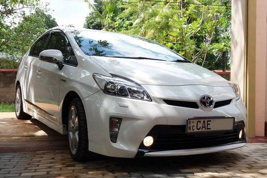 Toyota Prius Wedding Car