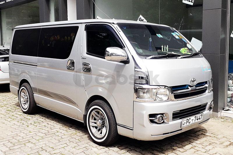 Toyota KDH Van for Hire in Kiribathgoda | Shantha