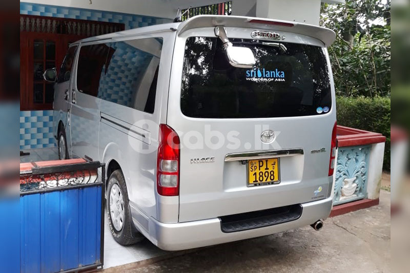 Toyota KDH Van for Hire in Kandy | icabs lk