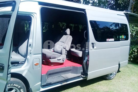 Toyota KDH High Roof Van for Hire in Gampaha