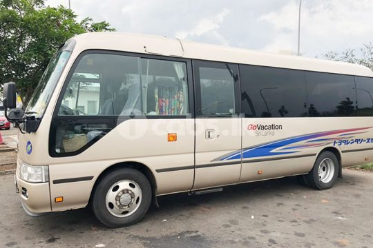 Toyota Coaster Bus for Hire in Kalutara