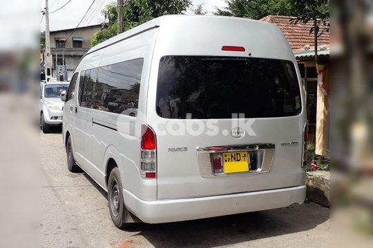 Toyota KDH High Roof Van