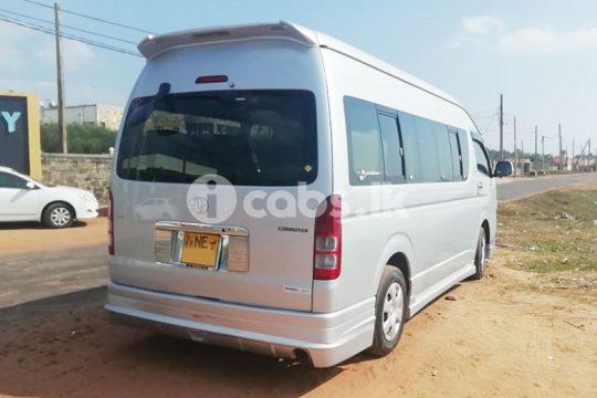 KDH Van for Hire